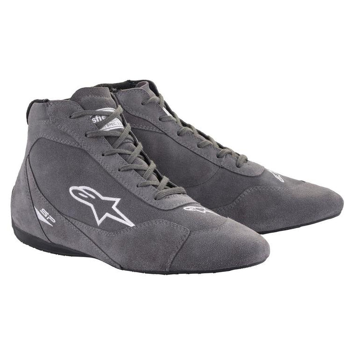 Alpinestars 2021 SP V2 Auto Shoes Racing Shoe Gray - Fast Racer