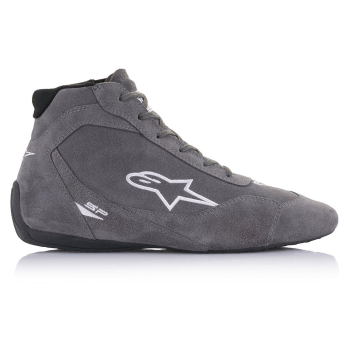 Alpinestars 2021 SP V2 Auto Shoes Racing Shoe Grey Right - Fast Racer