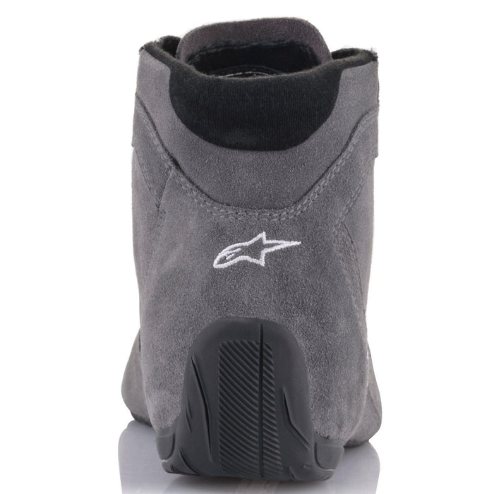 Alpinestars 2021 SP V2 Auto Shoes Racing Shoe Grey Back - Fast Racer