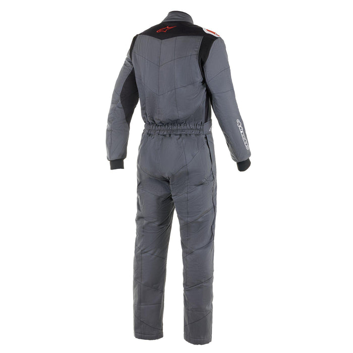 Alpinestars 2021 KNOXVILLE V2 Racing Suit Boot Cut - Anthracite / Red Back - Fast Racer