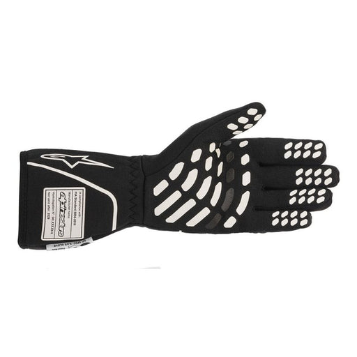 Alpinestars TECH-1 RACE V2 GLOVES - Black/White Back - Fast Racer