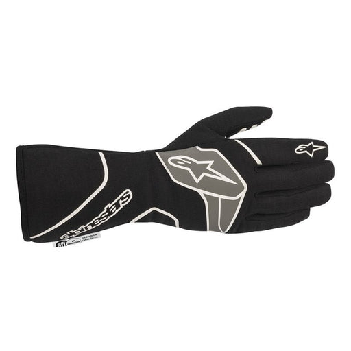 Alpinestars TECH-1 RACE V2 GLOVES - Black/White - Fast Racer