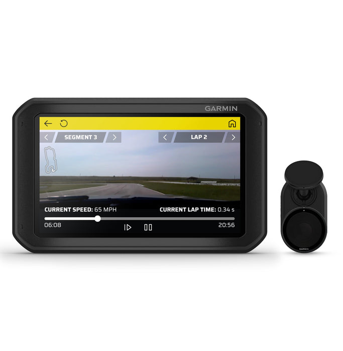 Garmin Catalyst Track Performance Optimizer - Dash Camera View - Fast Racer