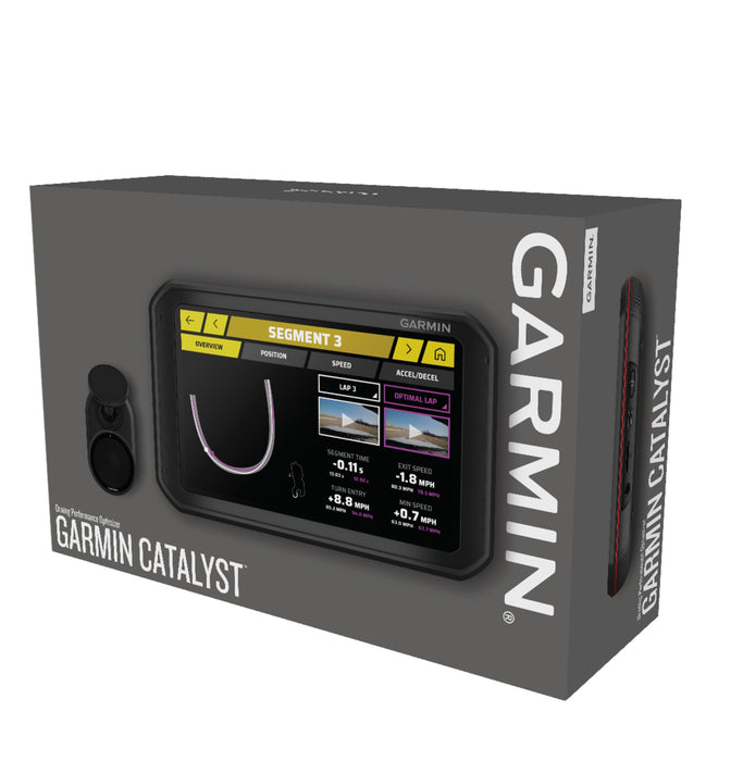 Garmin Catalyst Track Performance Optimizer - Packaging View - Fast Racer