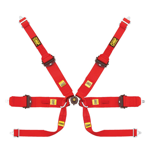 OMP | 807 Formula Hans SL Superlight Professional Seat Belt - FAST RACER