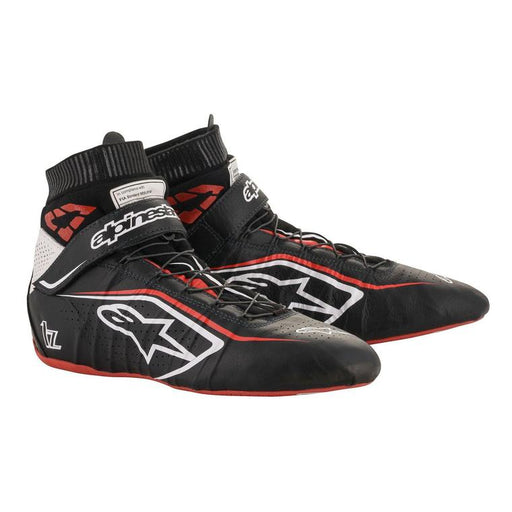 Alpinestars  TECH-1 Z V2 Racing Shoes / Boots, Black/Red - Fast Racer