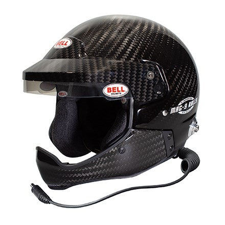 Bell | MAG-9 Carbon Rally HCB Helmet - FAST RACER