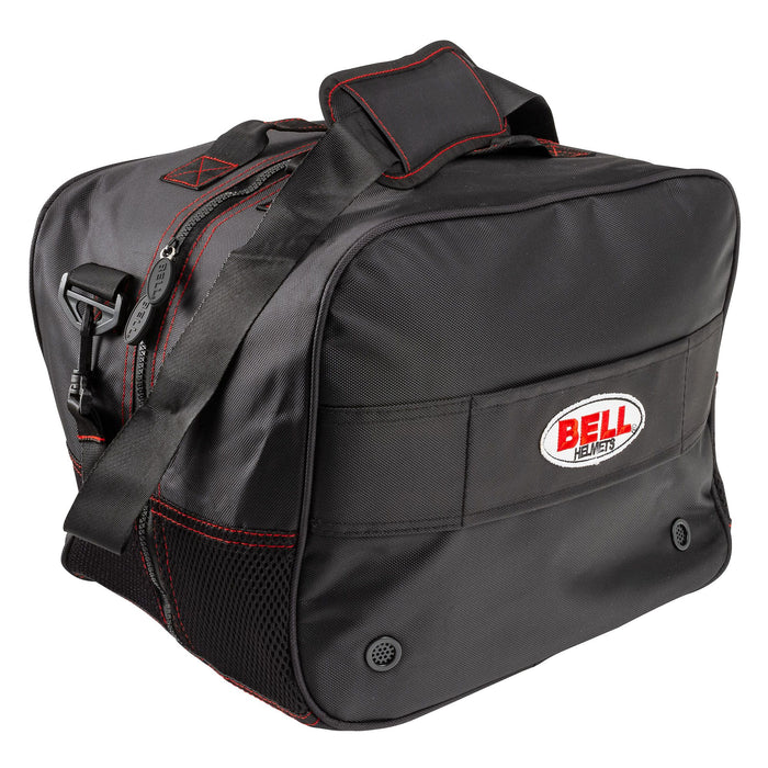 BELL HP HELMET BAG BLACK W/ SHOULDER STRAP 3 - FAST RACER