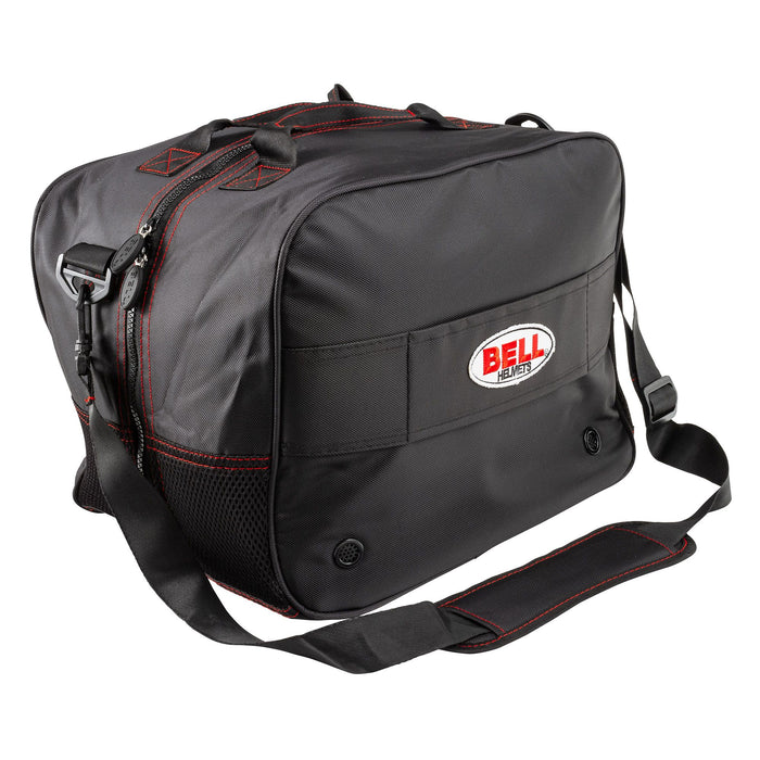 BELL HP HELMET BAG BLACK W/ SHOULDER STRAP 2 - FAST RACER