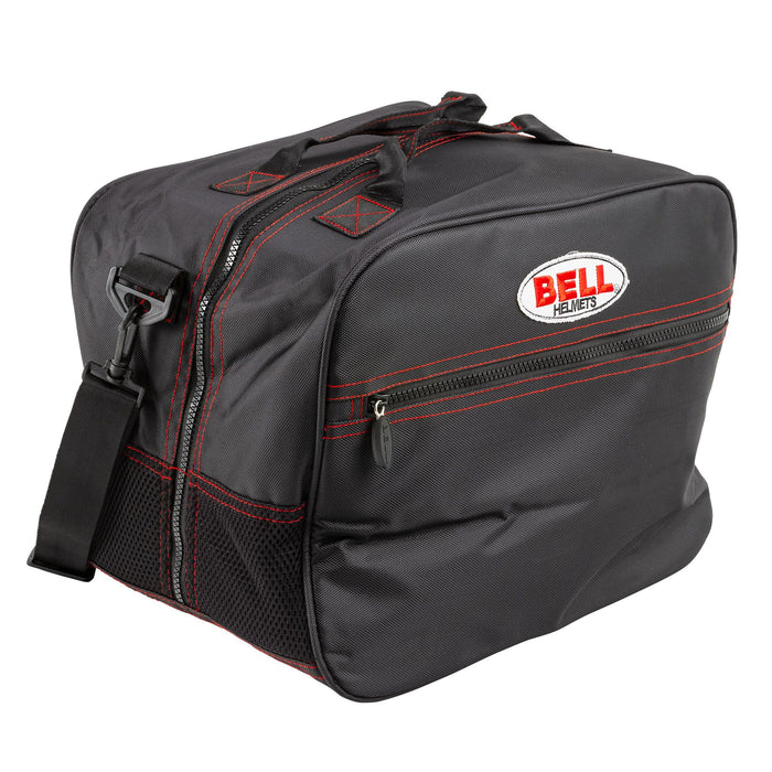 BELL HP HELMET BAG BLACK W/ SHOULDER STRAP - FAST RACER