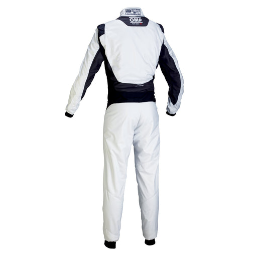 OMP | ONE-S Racing Suit MY2020 - Silver/Black Back