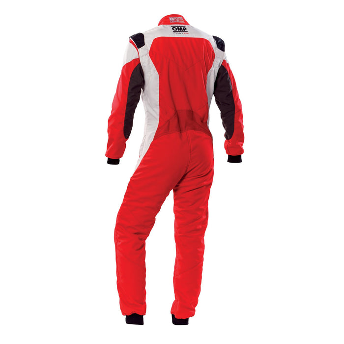 OMP FIRST EVO SUIT MY2020 Red White - Fast Racer