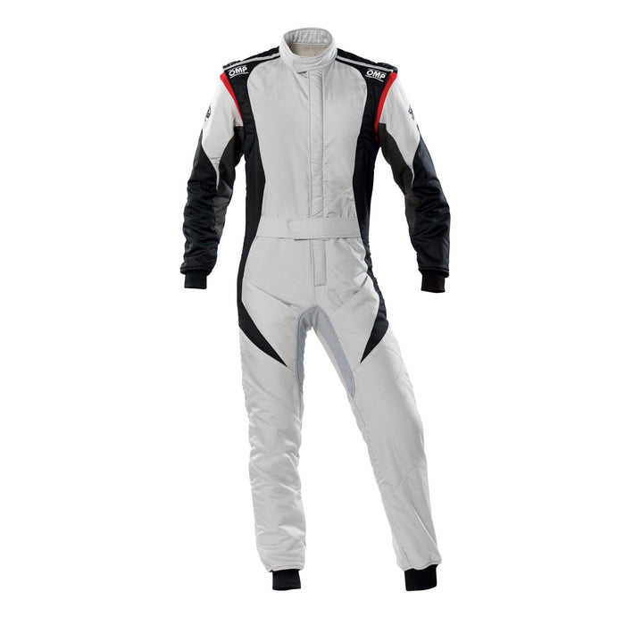 OMP FIRST EVO SUIT MY2020 Grey Black - Fast Racer