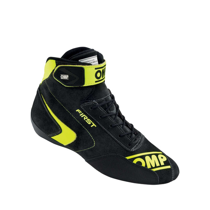 OMP | FIRST MY2020 Shoes Anthracite Fluo Yellow - Fast Racer