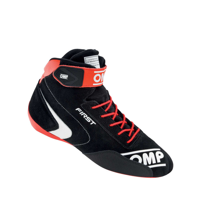 OMP | FIRST MY2020 Shoes Red Black - Fast Racer
