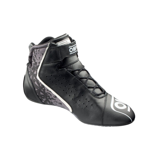 OMP ONE EVO X Professional Racing Shoes MY2021 - Internal - Black - Fast Racer
