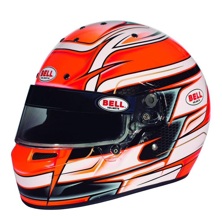 Bell | KC7-CMR Youth Karting Helmet Orange - FAST RACER