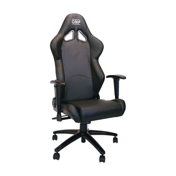 OMP | Racing Style Wheeled Office Chair HA/777E - Black