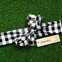 Gingham Bow Headband