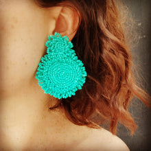 """Turkish"" Earrings - Aqua"