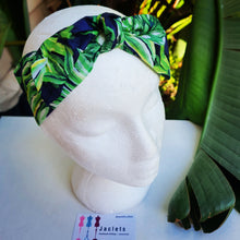 """Palm Cove"" tie up Headband"
