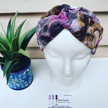 "Luxe Turbana Headband - ""Amelie"""