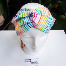 "Luxe Turbana Headband - ""Rainbows"""