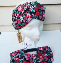 "Luxe Turbana Headband - ""Poppy"""