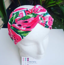 "Luxe Turbana Headband - ""Watermelons"""