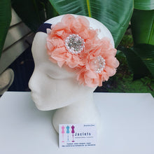 """Annaliese"" Headband  - Peach"
