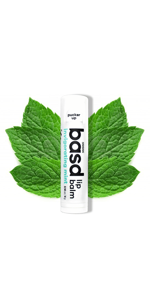 the best natural lip balm full of soothing aloe and perfectly minty kissable lips