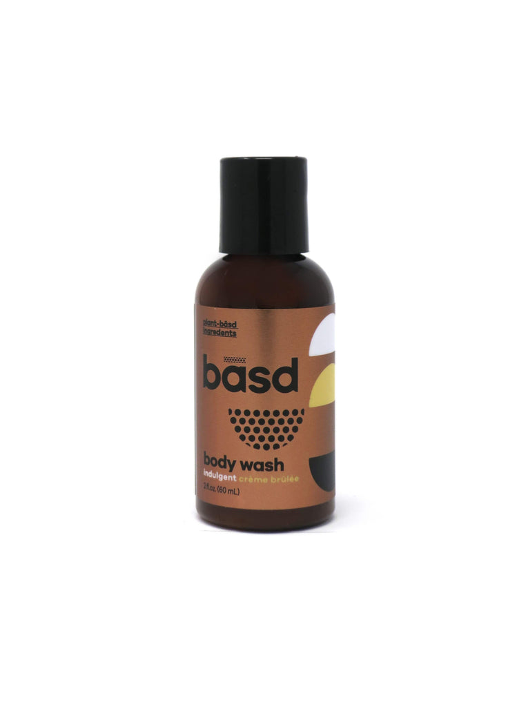 rated the best body wash by think dirty fans, basd's creme brulee body wash is an indulgent experience for your next bath, shower or face wash