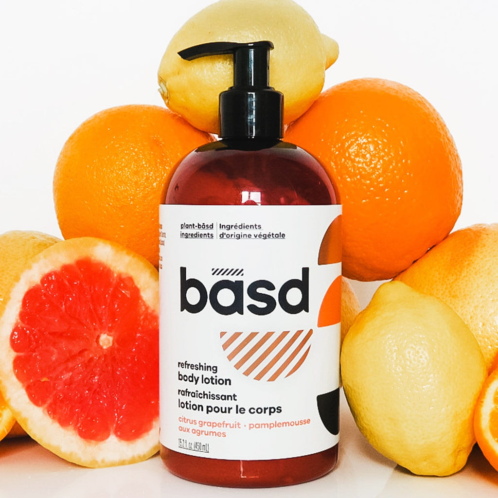 refreshing citrus grapefruit body lotion