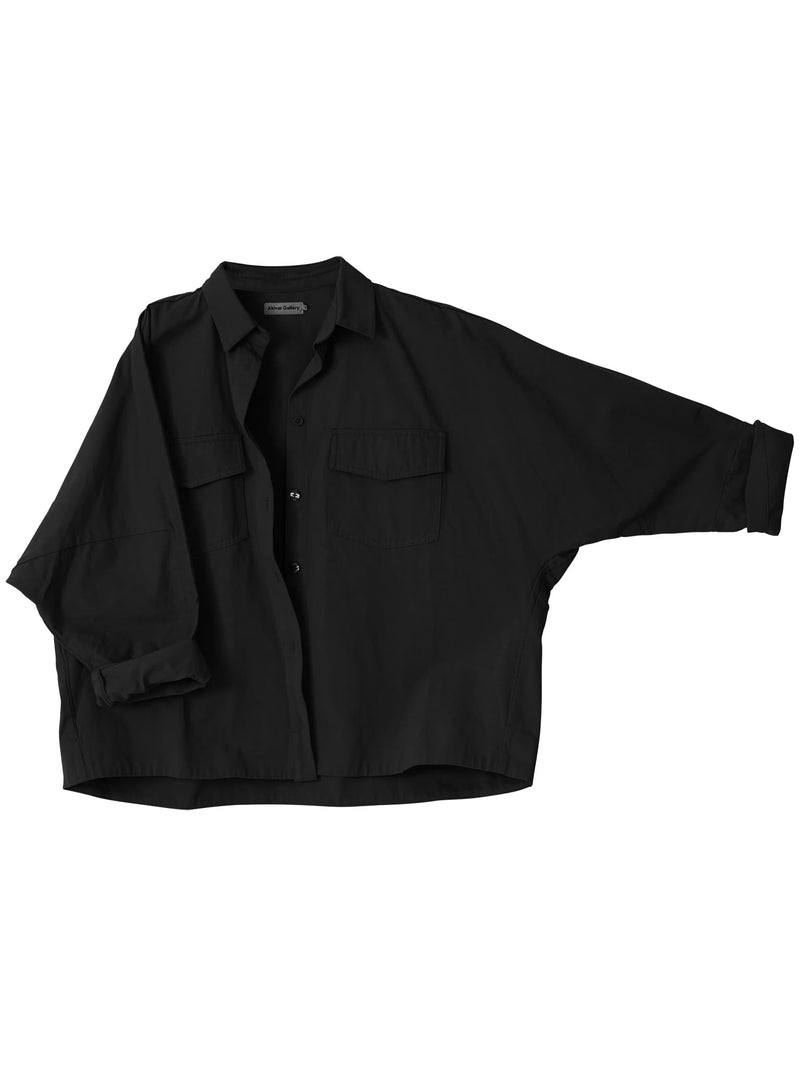 Gigi over shirt washed black