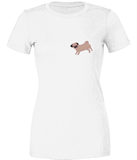 Ruby Fawn Pug 100% Cotton Tee / T-Shirt
