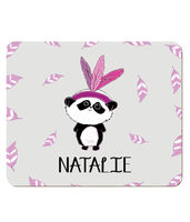 Personalised Kids Hardboard Placemat - Panda