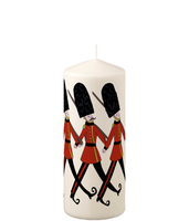 Pillar Candle - London Soldiers