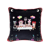 Grumbleland Velvet Cushion