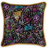 Silk Satin Cushion - Stay Wild