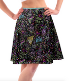 Stay Wild Ladies Skater Skirt