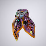 London Calling Silk Scarf- 90cm x 90cm