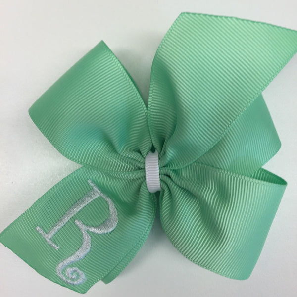 Mint Green Hair Bow