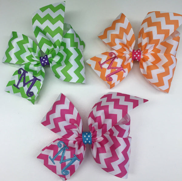 Initial Girls, Hairbows, Chevron Letter, Easter, Summer Colors, School Set, Gift Ideas, Neon glam, Trendy Southern, Country Kids, Portrait