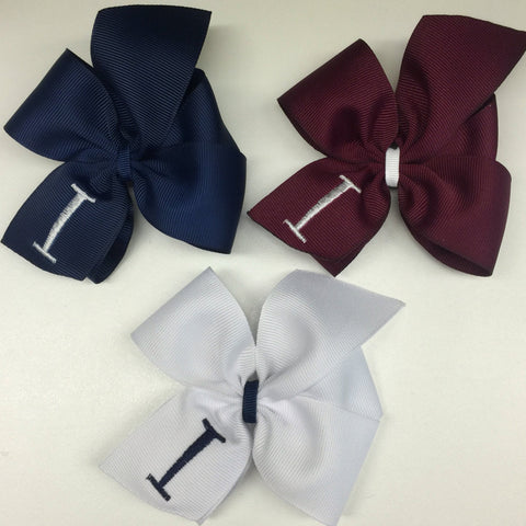 3 Uniform Hair Bows