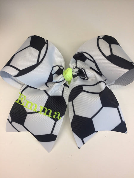 Large Soccer Bow