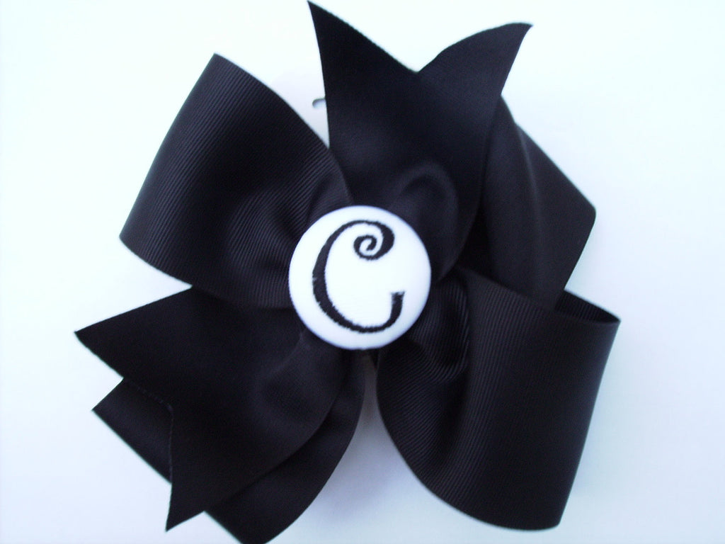 Large Black Bow