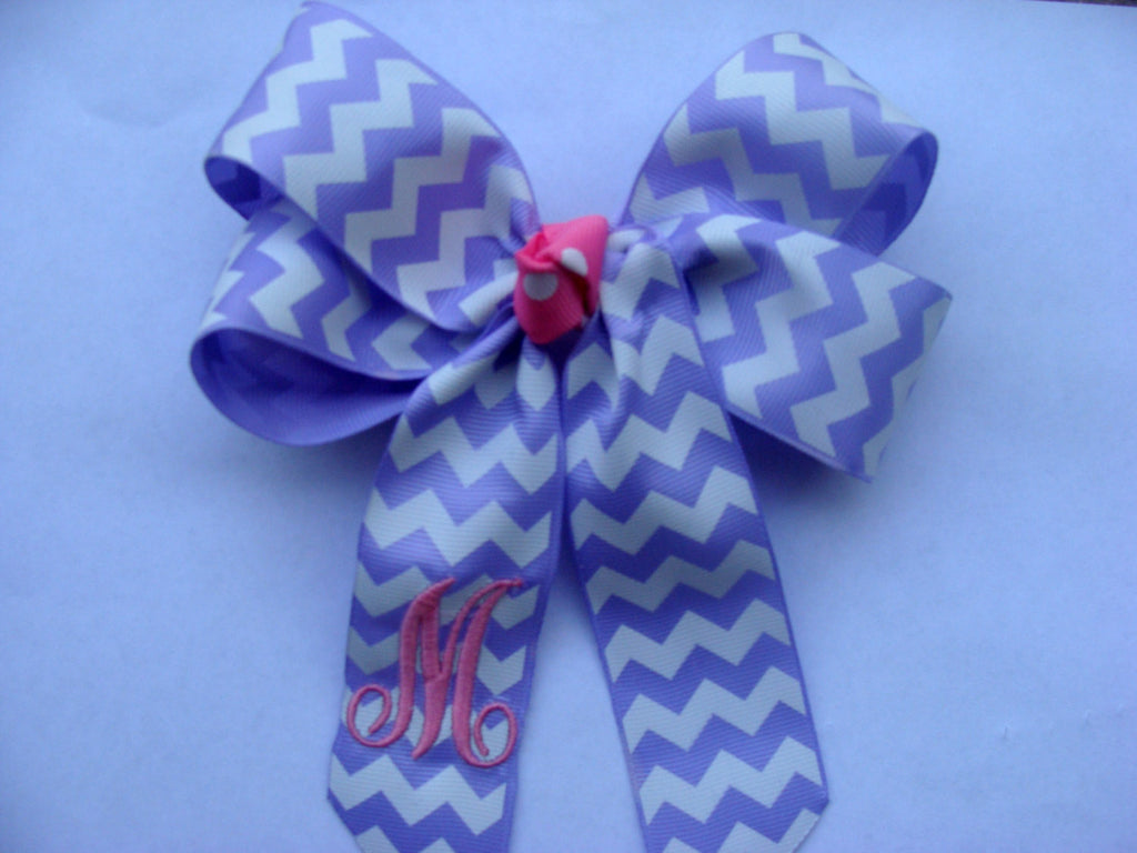 Lavender Cheer Bow