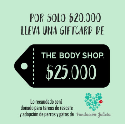 The Body Shop - Gift Card