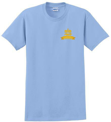 Queen's Plate T-Shirt, Light Blue - Men's