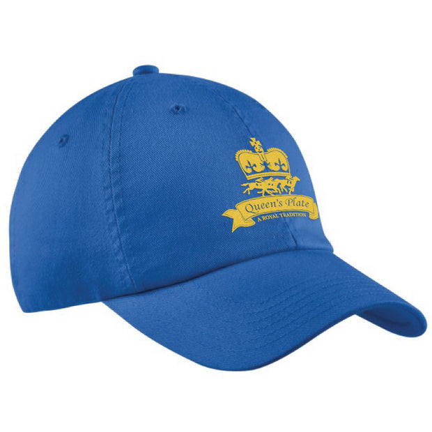Queen's Plate Ball Cap, Royal Blue